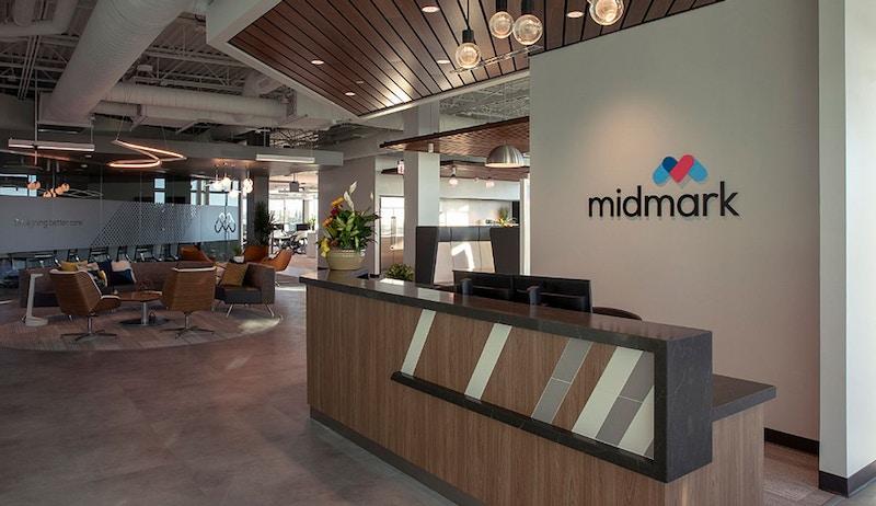 Midmark's office lobby