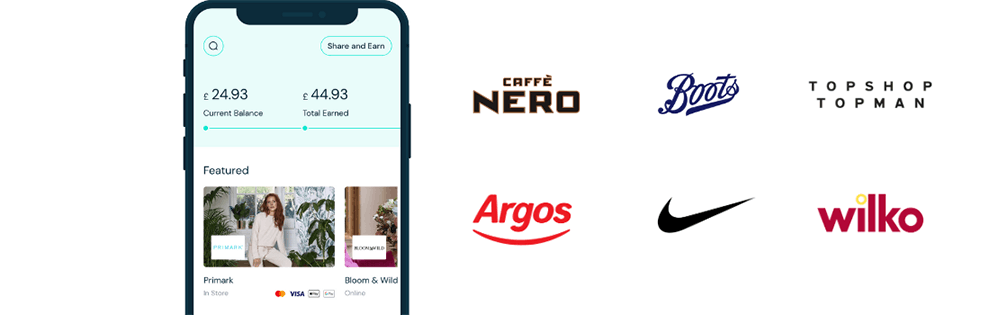 Earn rewards with Boots, Wilko, Argos, Topshop and Nike