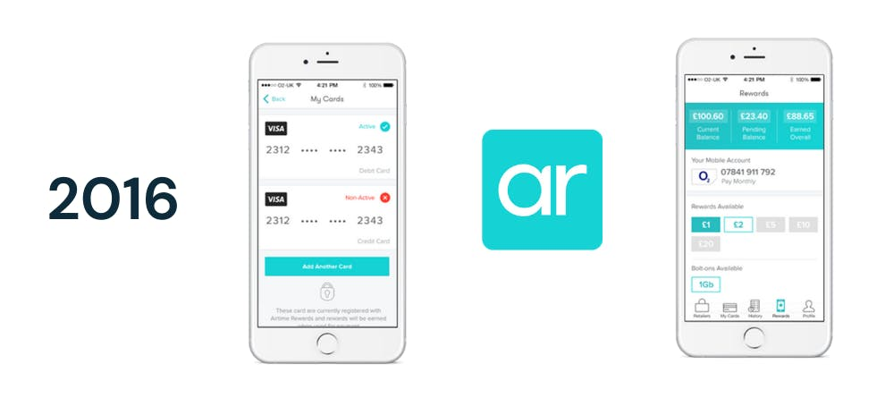 Airtime Rewards first release