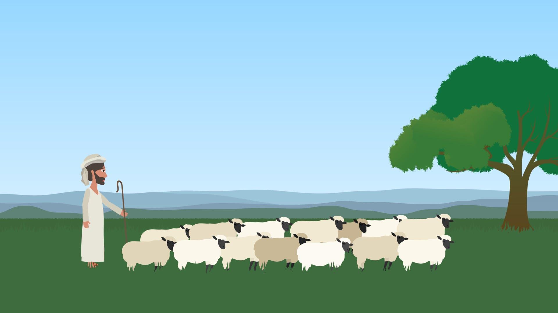 God is my shepherd meaning