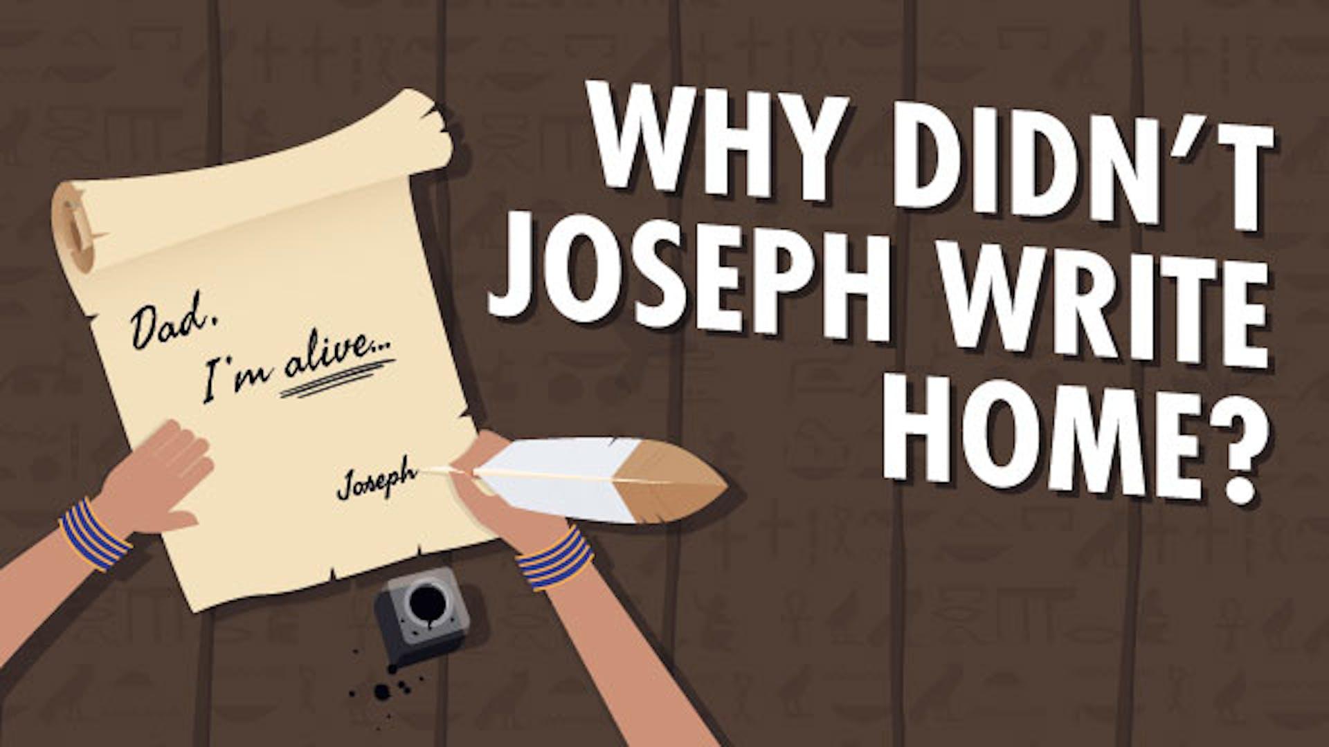 Joseph Jacob story Bible study