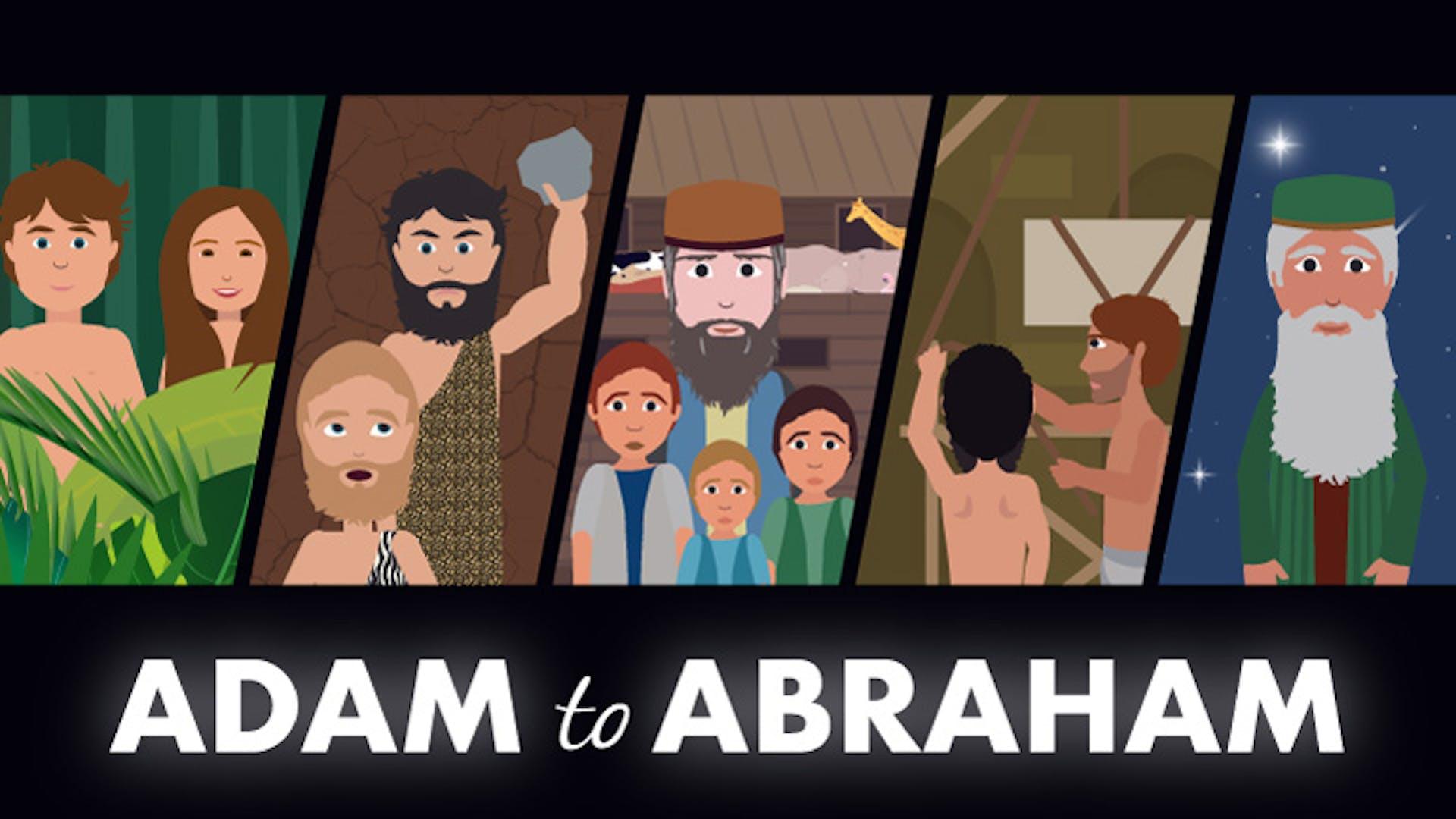 Genesis history Adam to Abraham