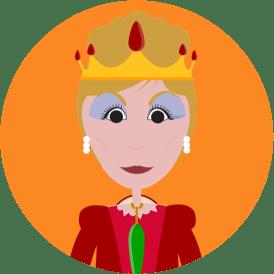 Purim characters Queen Vashti