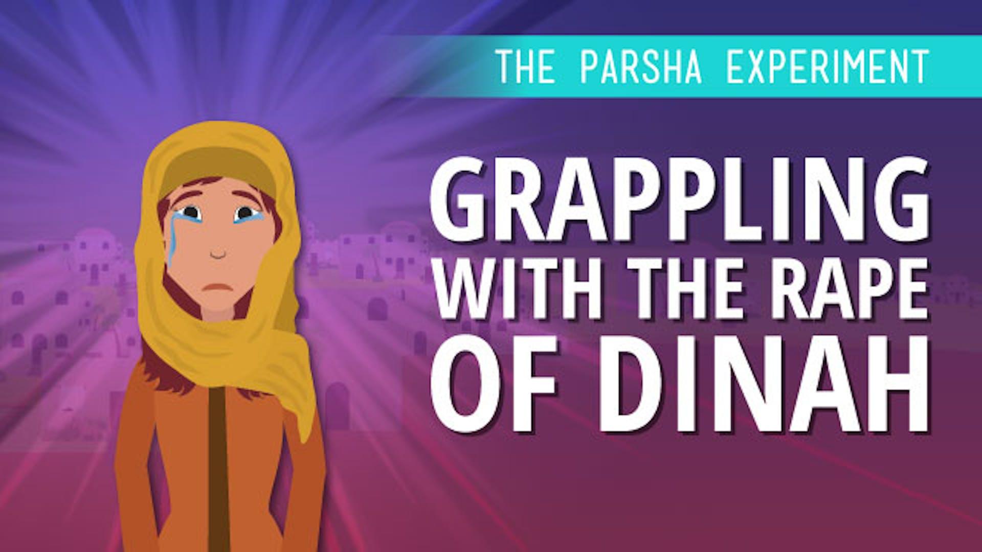 Dinah Shechem rape Bible study