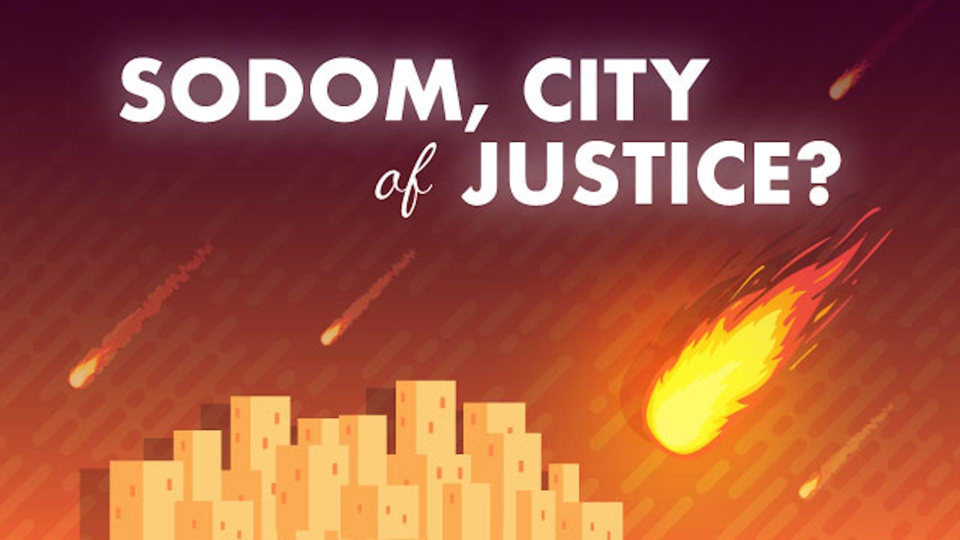 What was real sin Sodom Gomorrah
