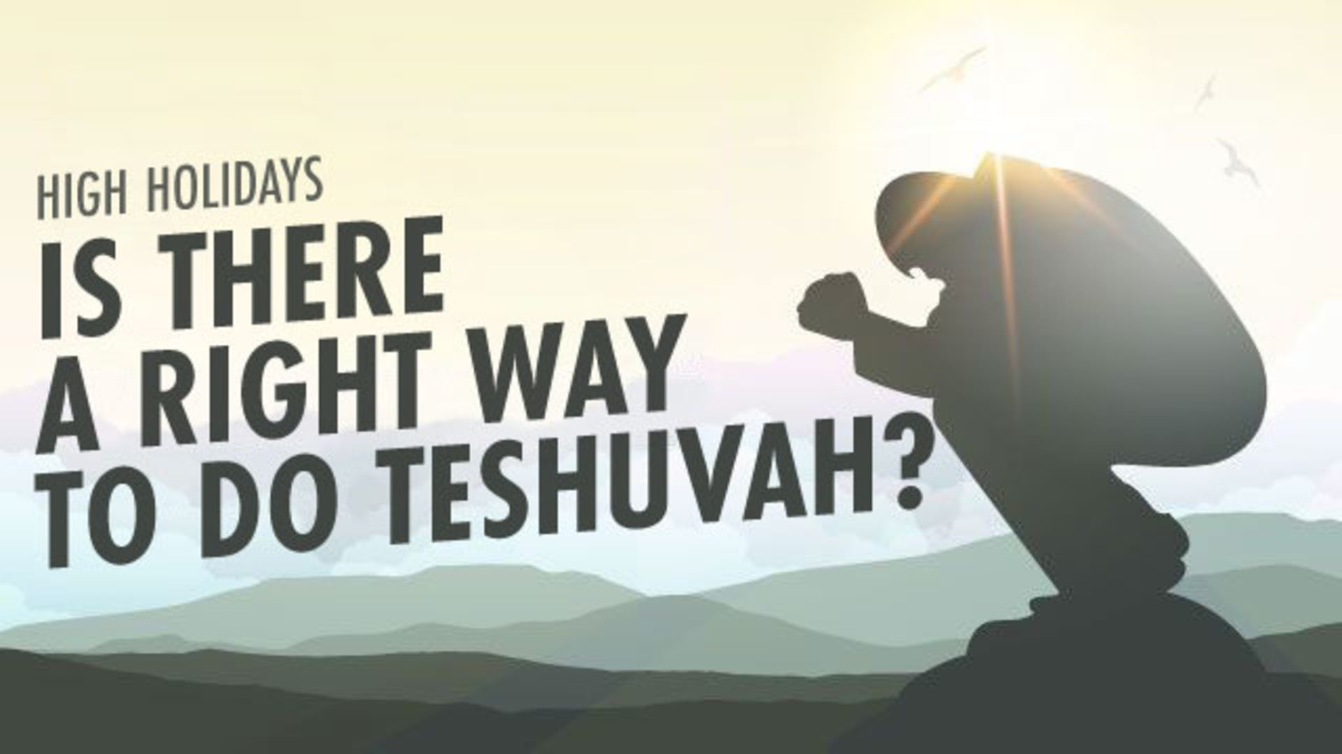 Teshuvah hilcot steps of repentance