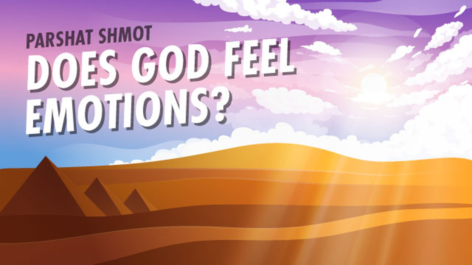 Does God have emotions like Love for us