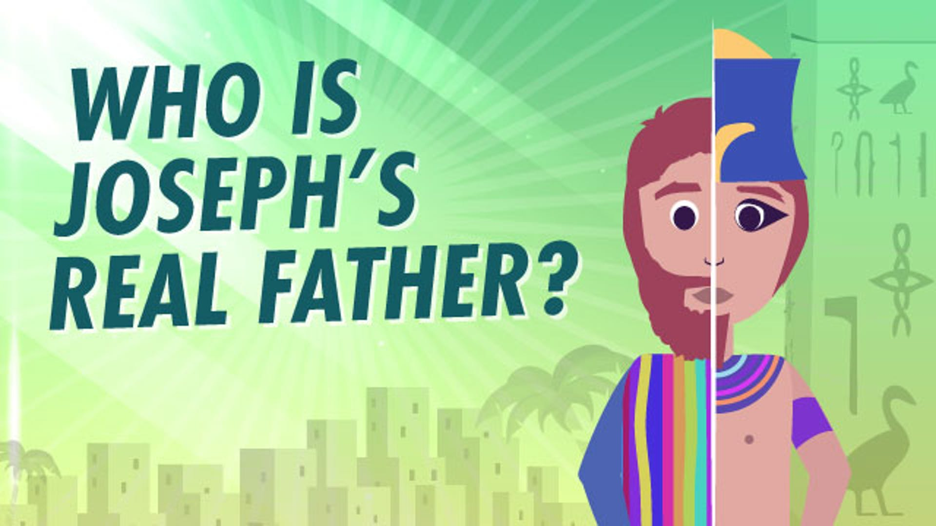 Joseph buries father Jacob