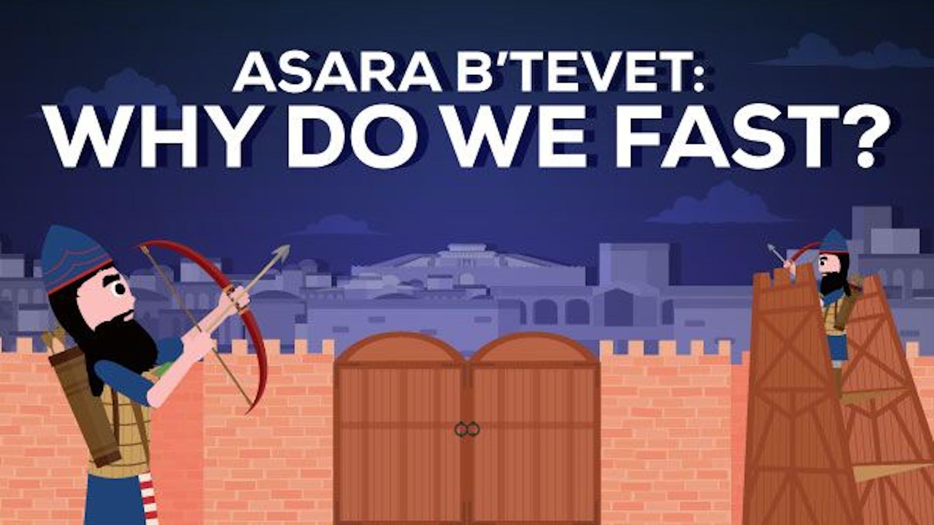 Why do we fast Asara b'Tevet