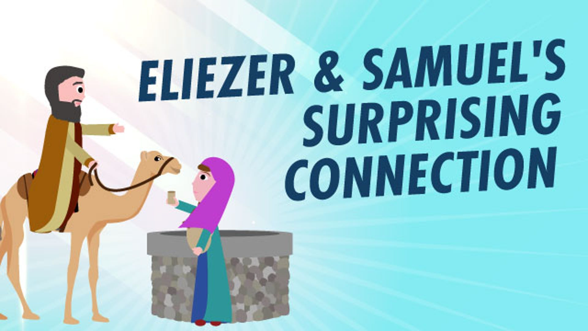 Eliezer Rebekah Isaac marriage