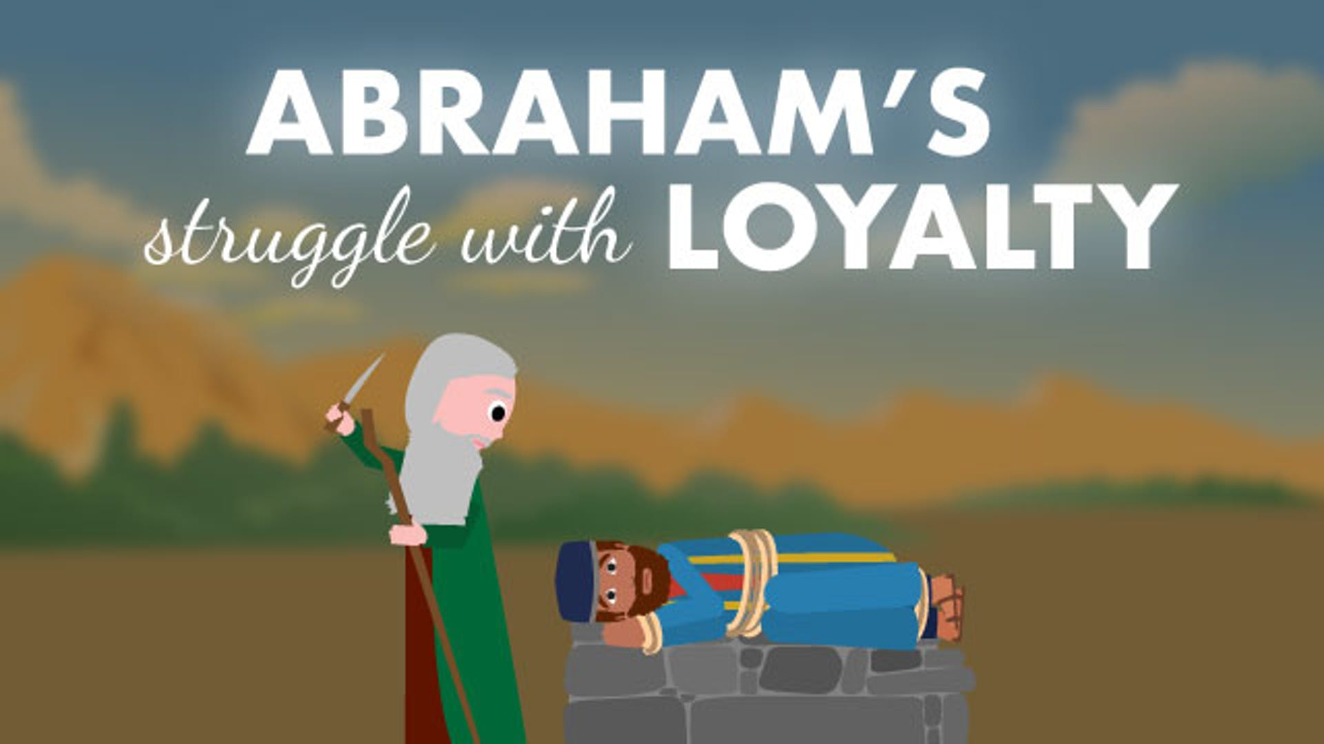 Abraham offers Isaac Story