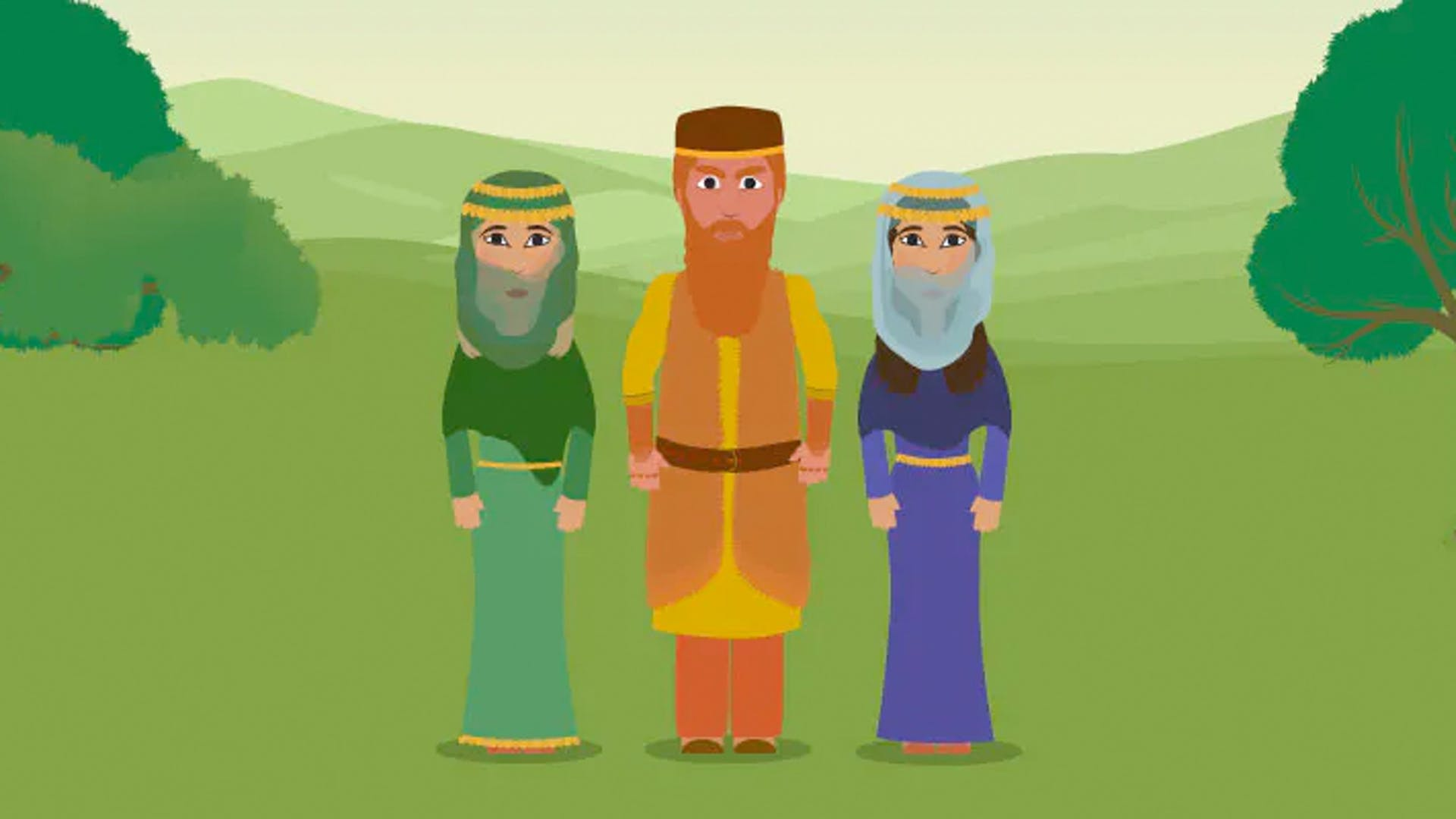 Who were Esau's wives Bible