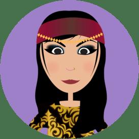 Purim character Zeresh image