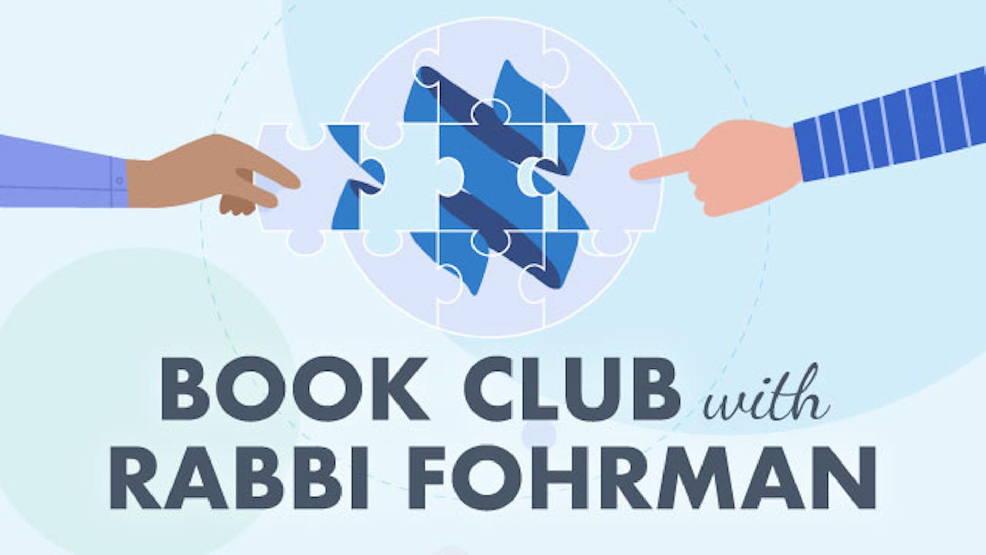 Book Club with Rabbi Fohrman