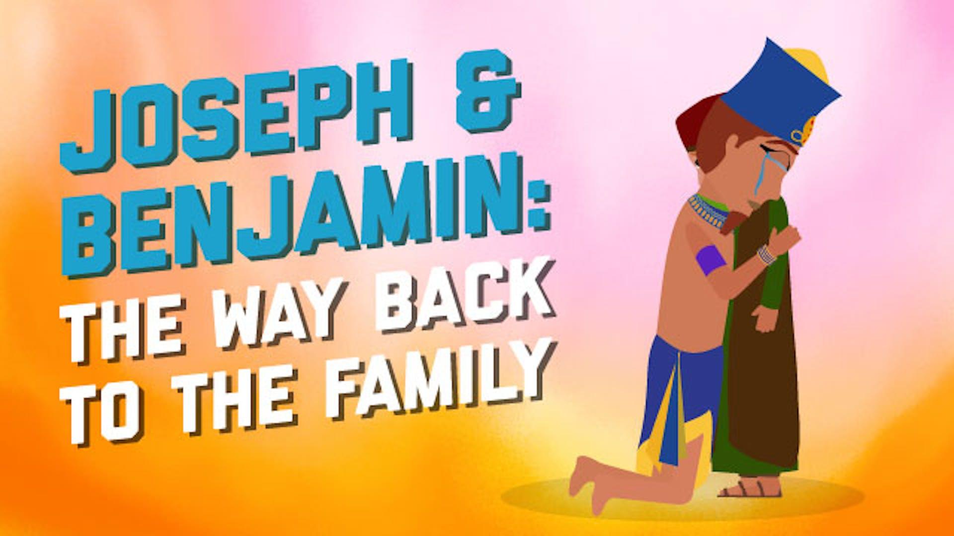 Joseph saves family Benjamin brothers