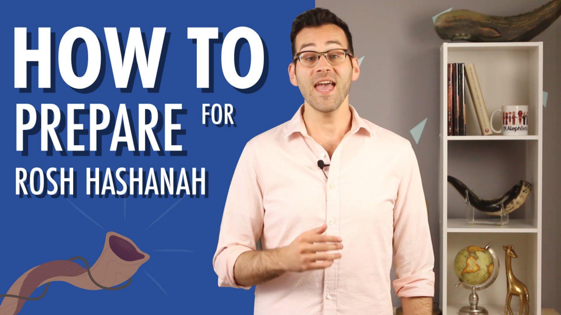 Spiritual preparation for rosh hashanah