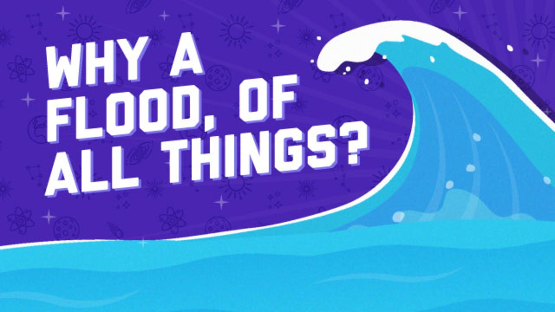 Noah's story why God sent flood