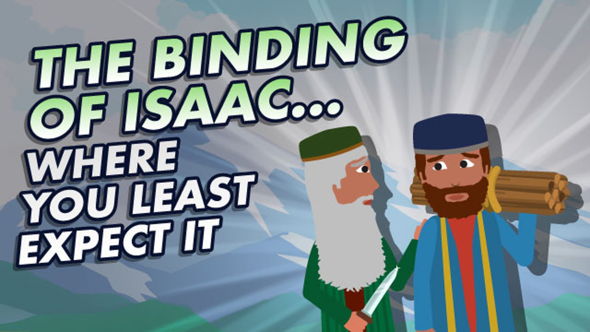 Isaac's blessing to Esau story