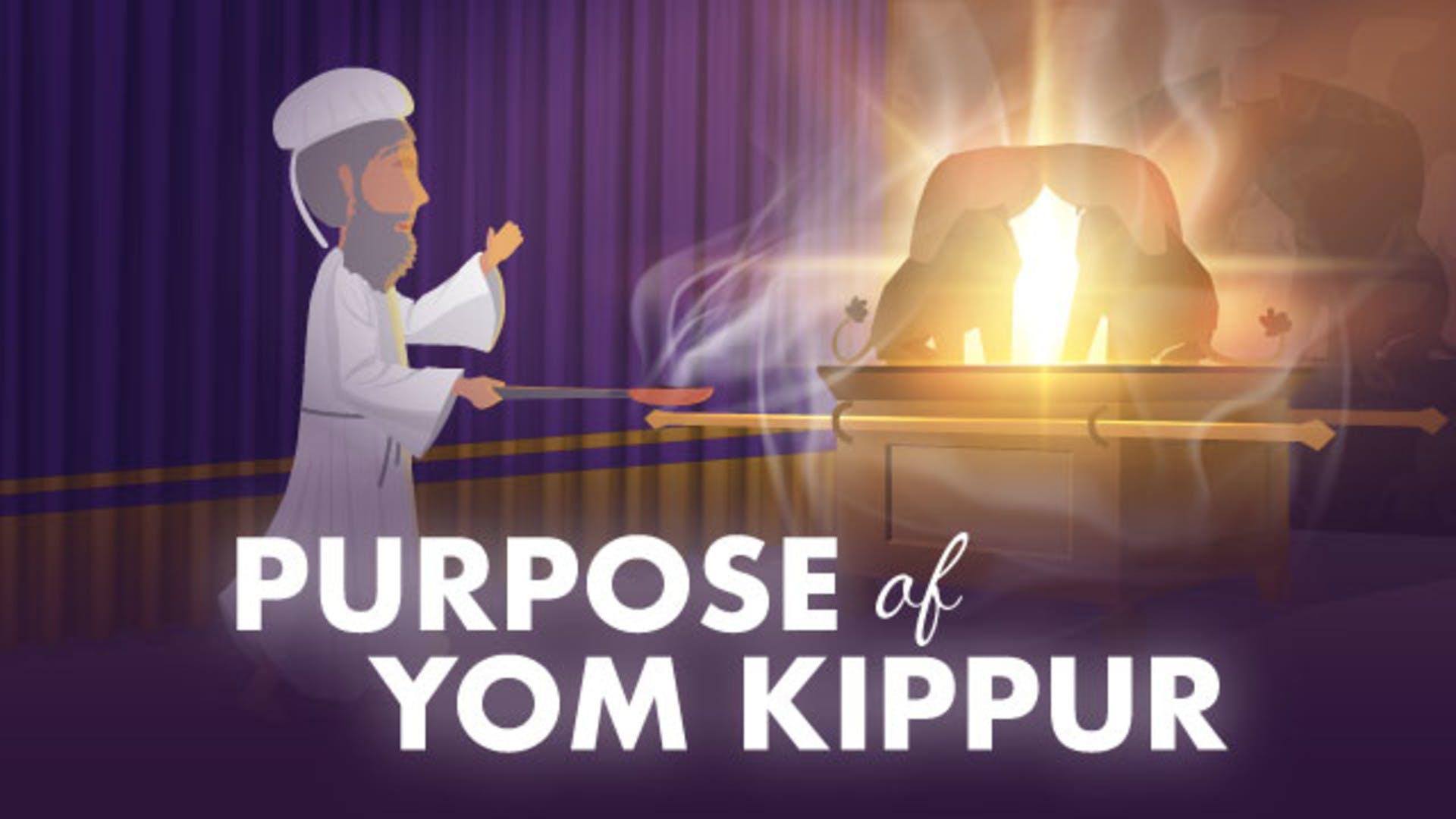 Yom Kippur forgiveness meaning purpose