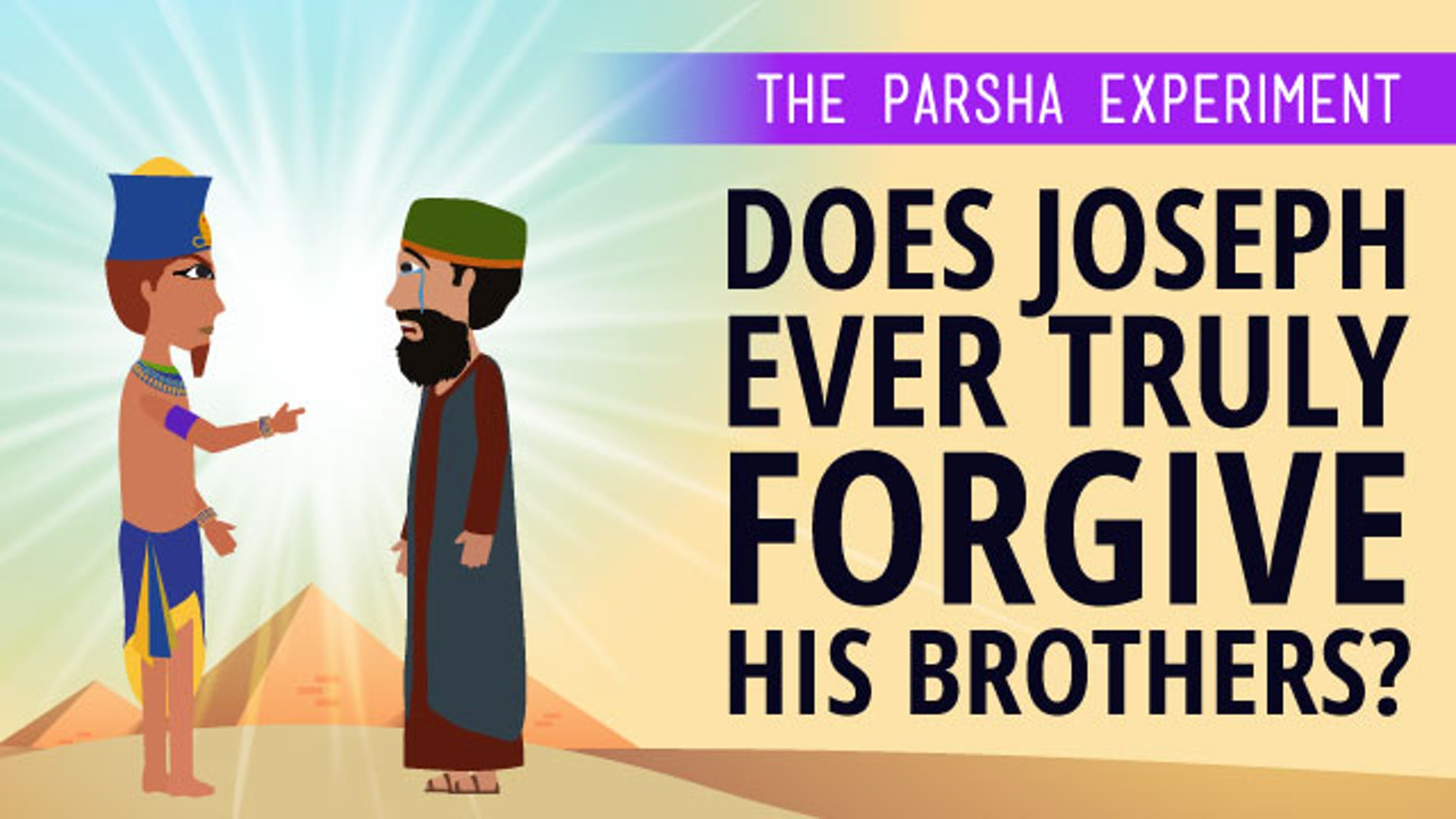 Story Joseph and brothers in Egypt