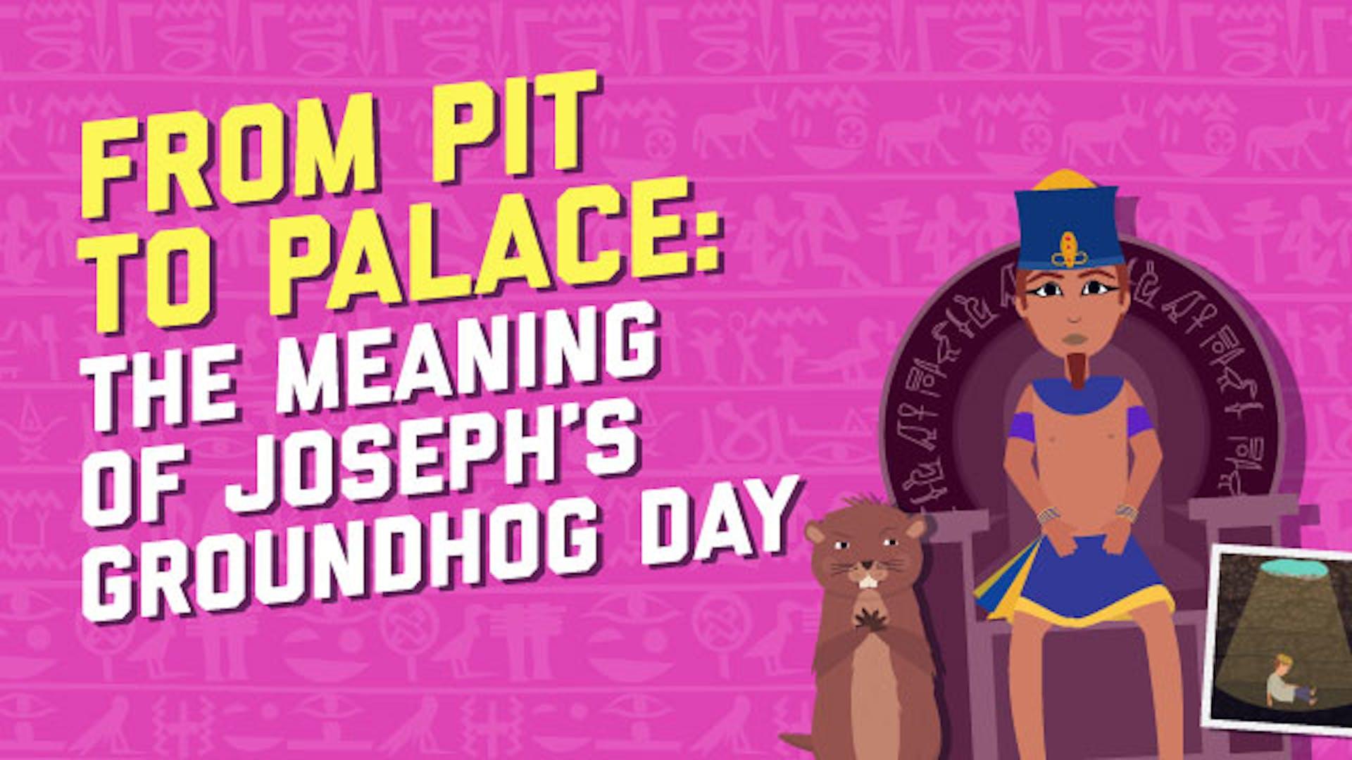 Joseph pit to palace story