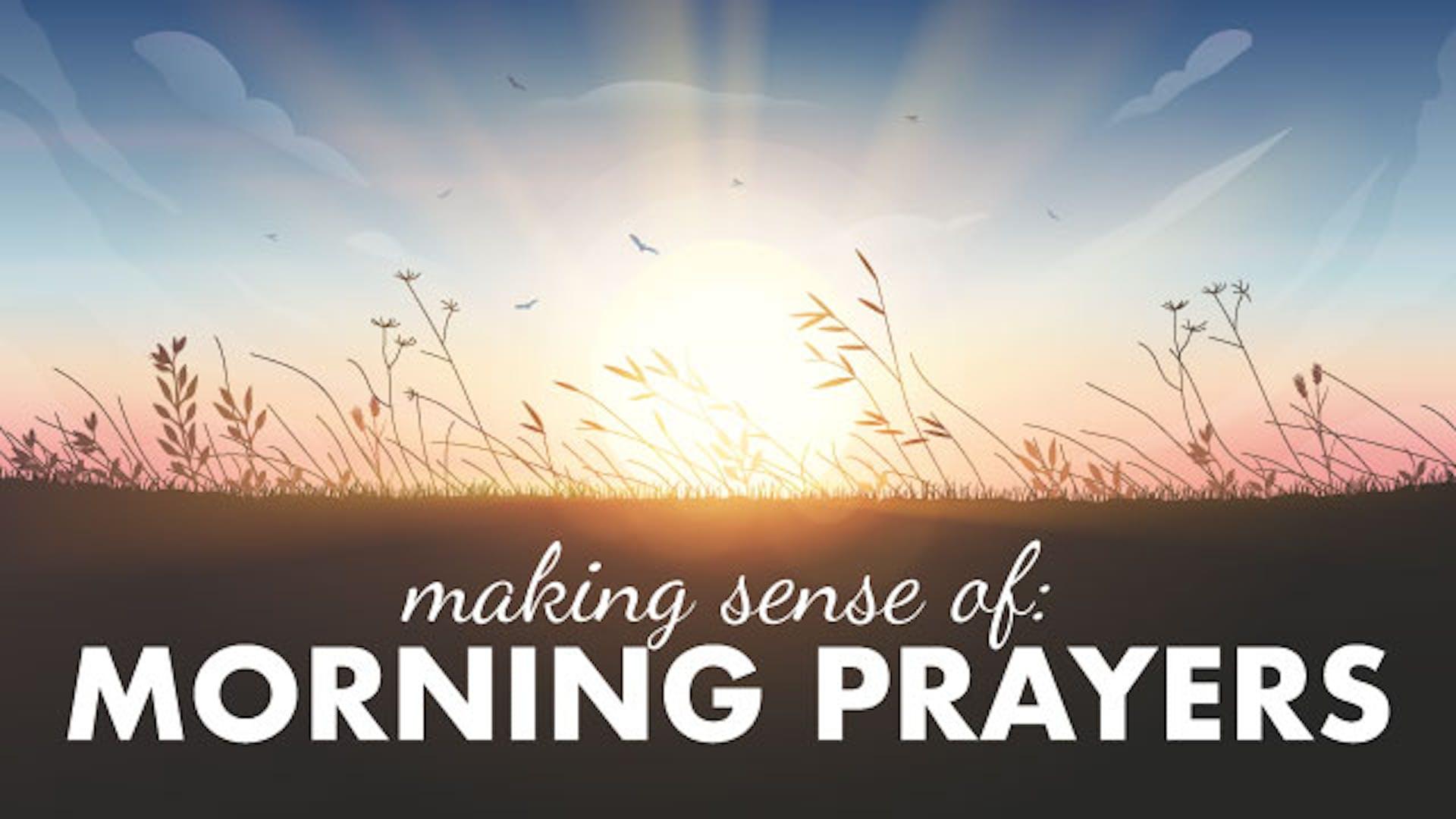 shacharit jewish morning prayer