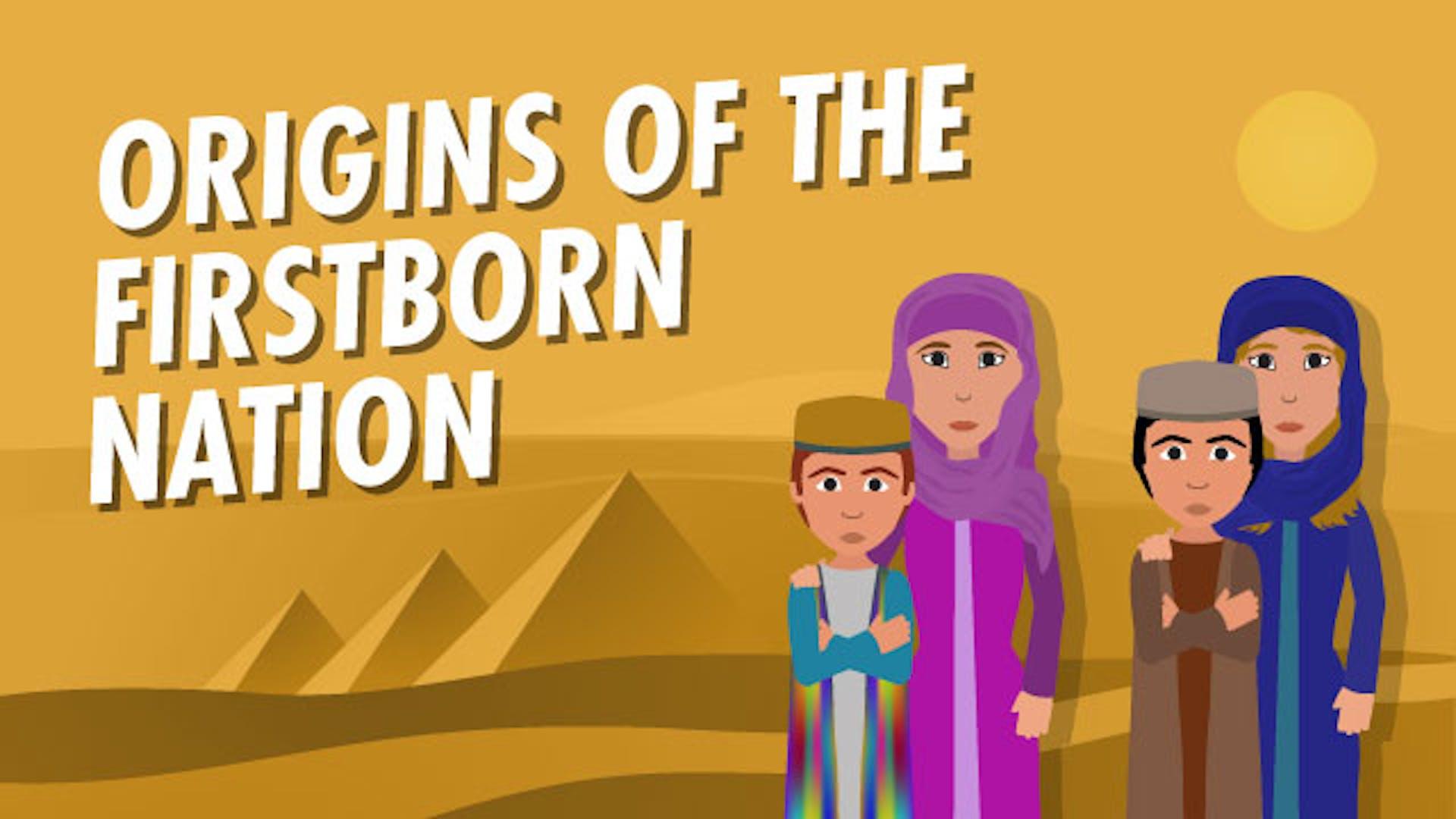 Israel God's chosen nation origin