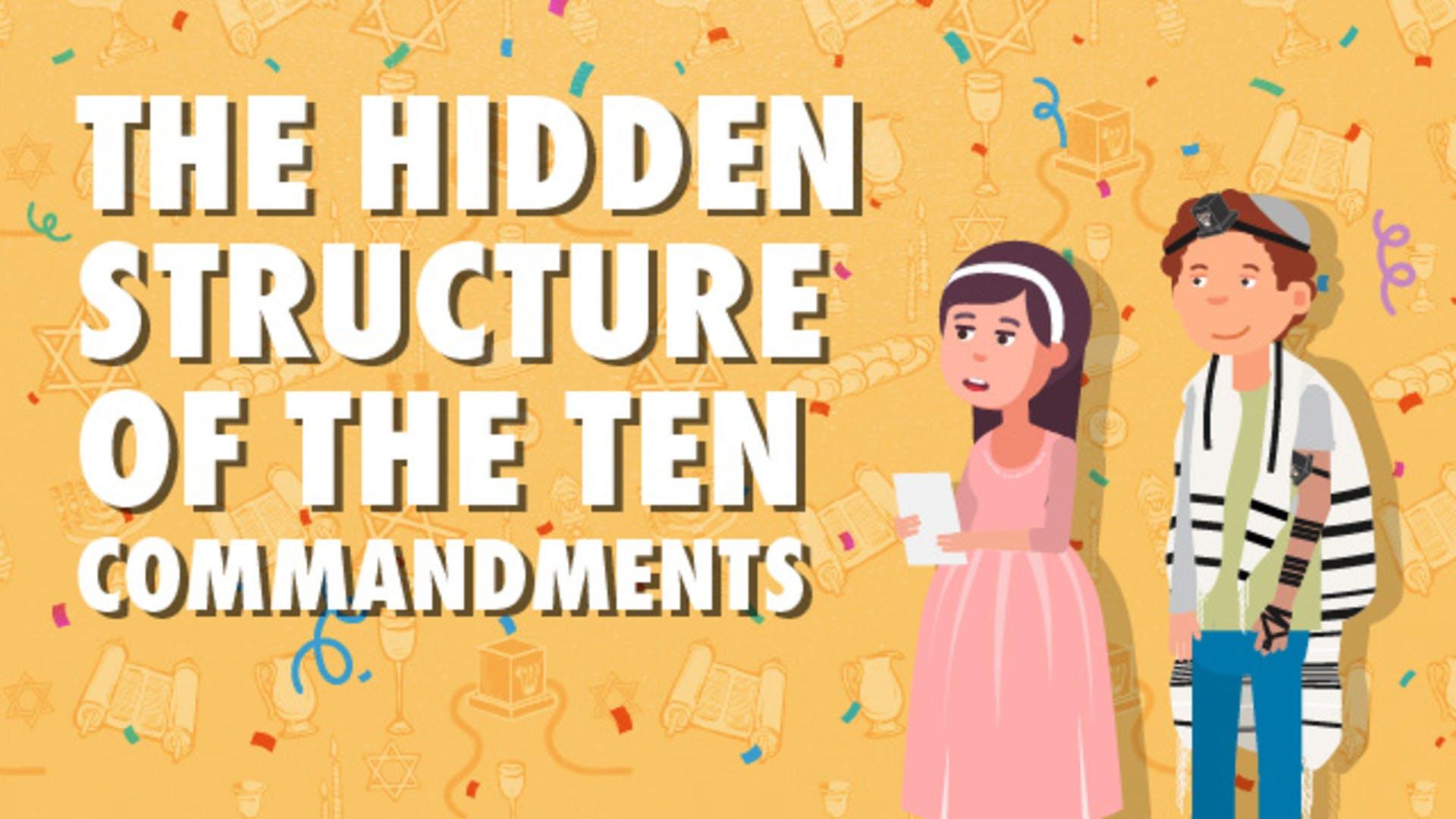 The Hidden Structure of the Ten Commandments