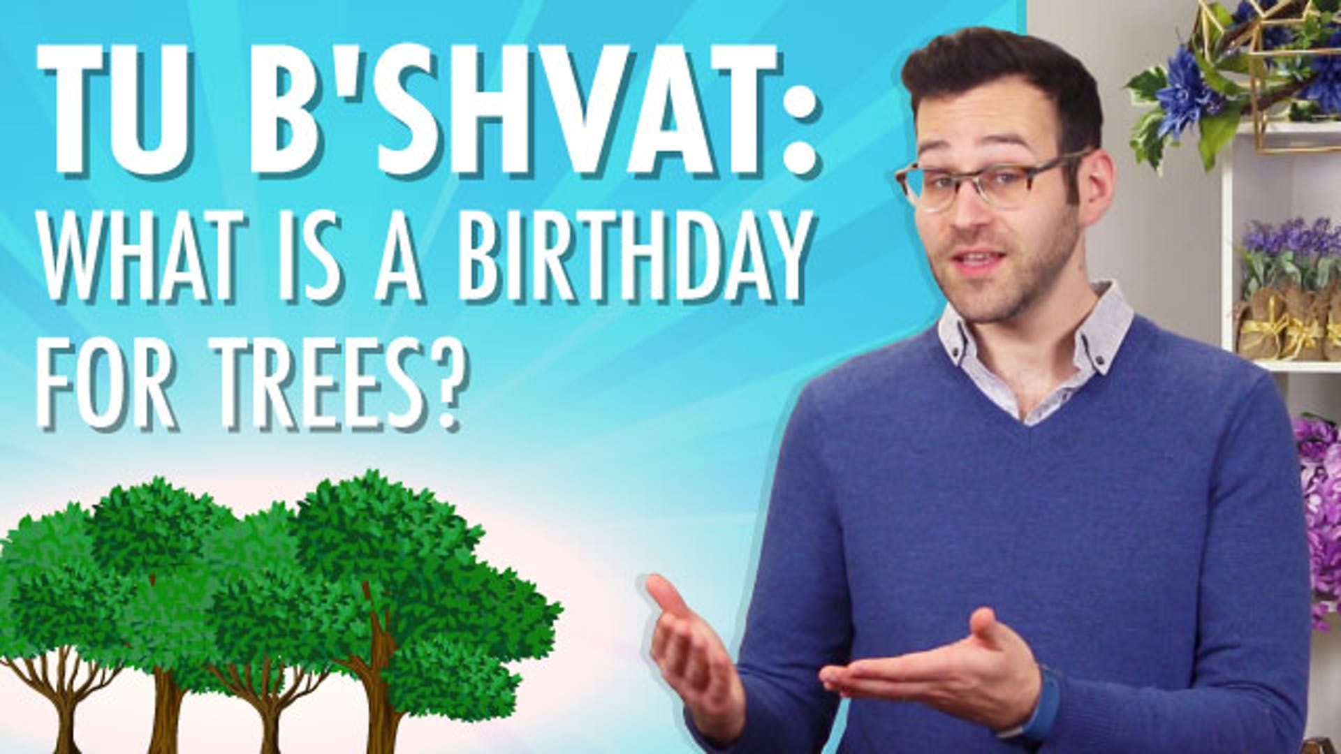 What is Tu Bishvat tree holiday birthday