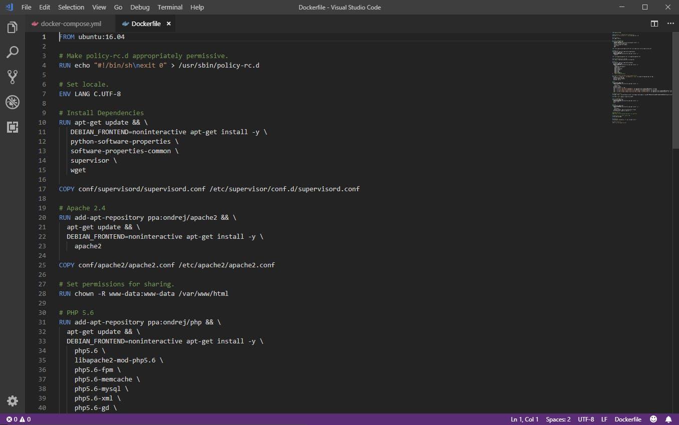 Undine source code screenshot.