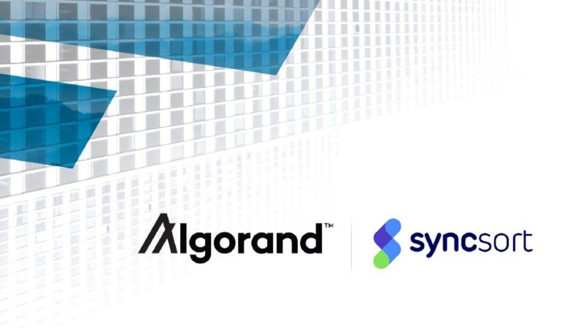 Algorand - syncsort Use Case