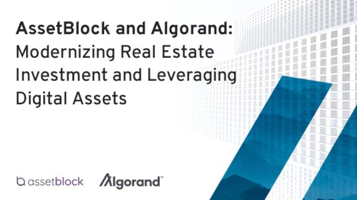 Algorand AssetBlock - Real Estate