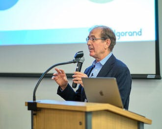 Silvio Micali presents Algorand's Foundational Technology