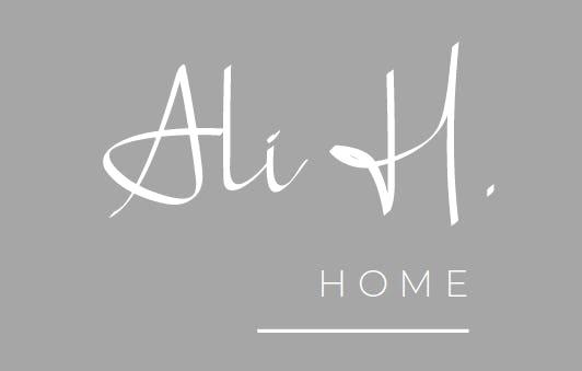 Ali H. Home logo