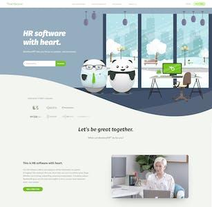 BambooHR 2020 Winter Homepage