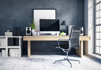 image about Set up an ergonomic home office on a budget