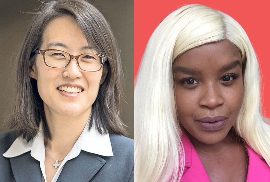 Ellen Pao and McKensie Mack (Credit for Ellen Pao photo: David Paul Morris, Bloomberg, © 2016 Bloomberg Finance LP)
