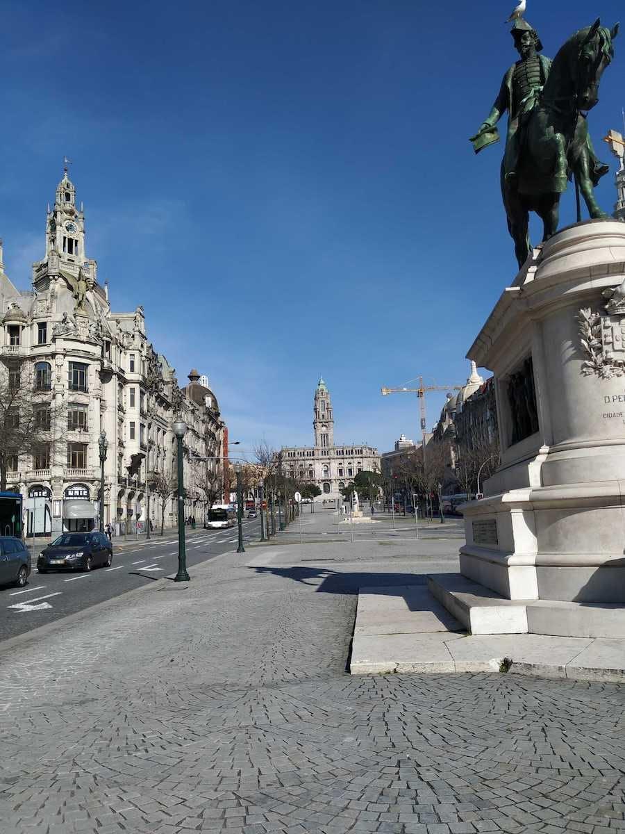square in Porto