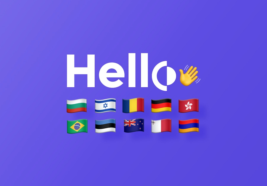 New countries from Remote