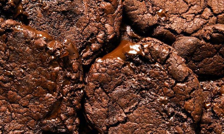 vegan brownie cookies