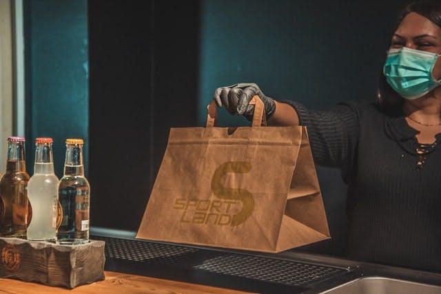takeaway bag