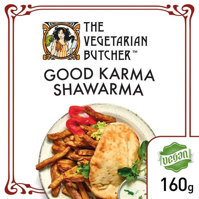 vegetarian butcher shawarma