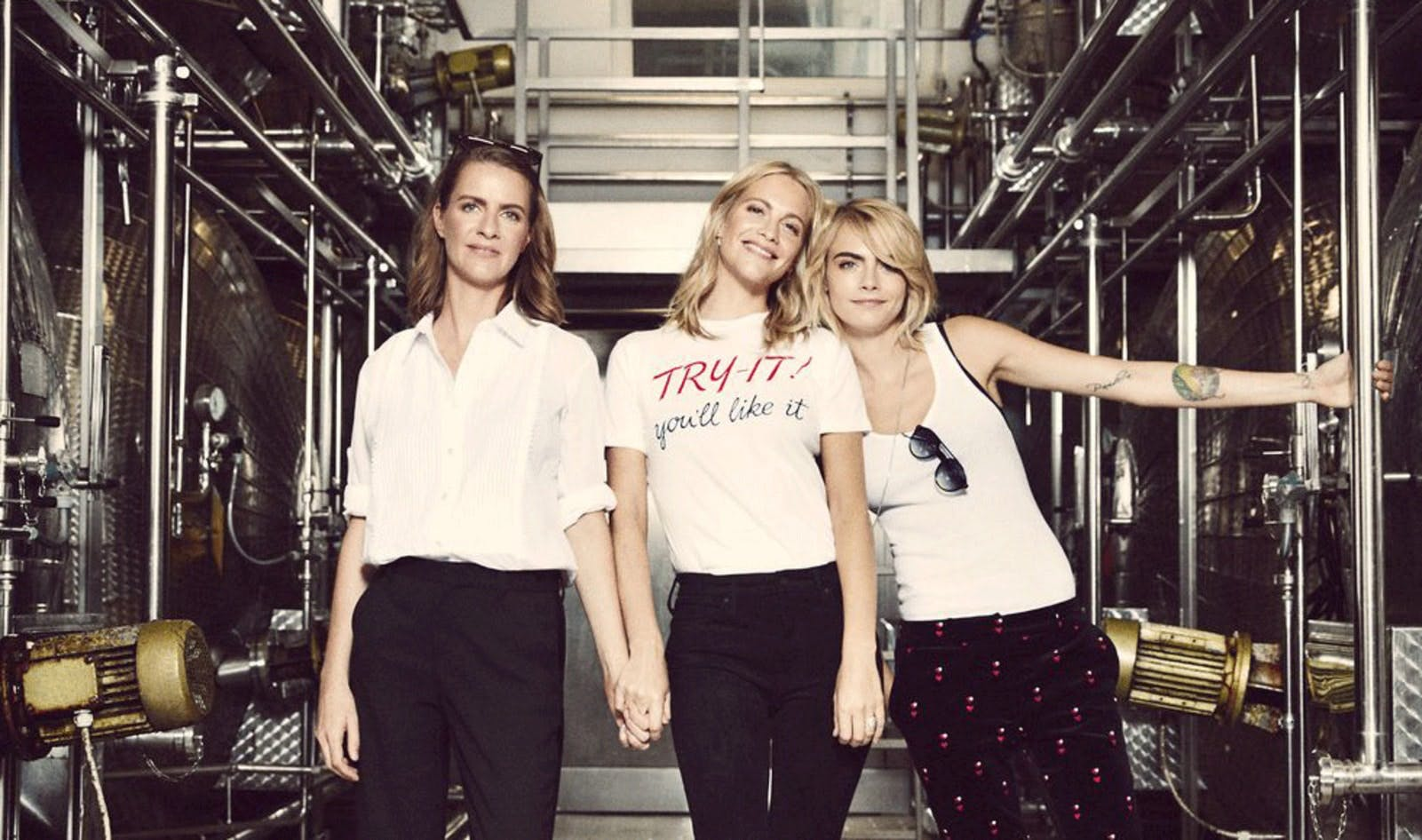three sisters running vegan prosecco brand