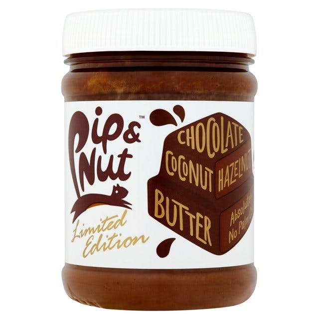 pip and nut chocolate and hazelnut butter