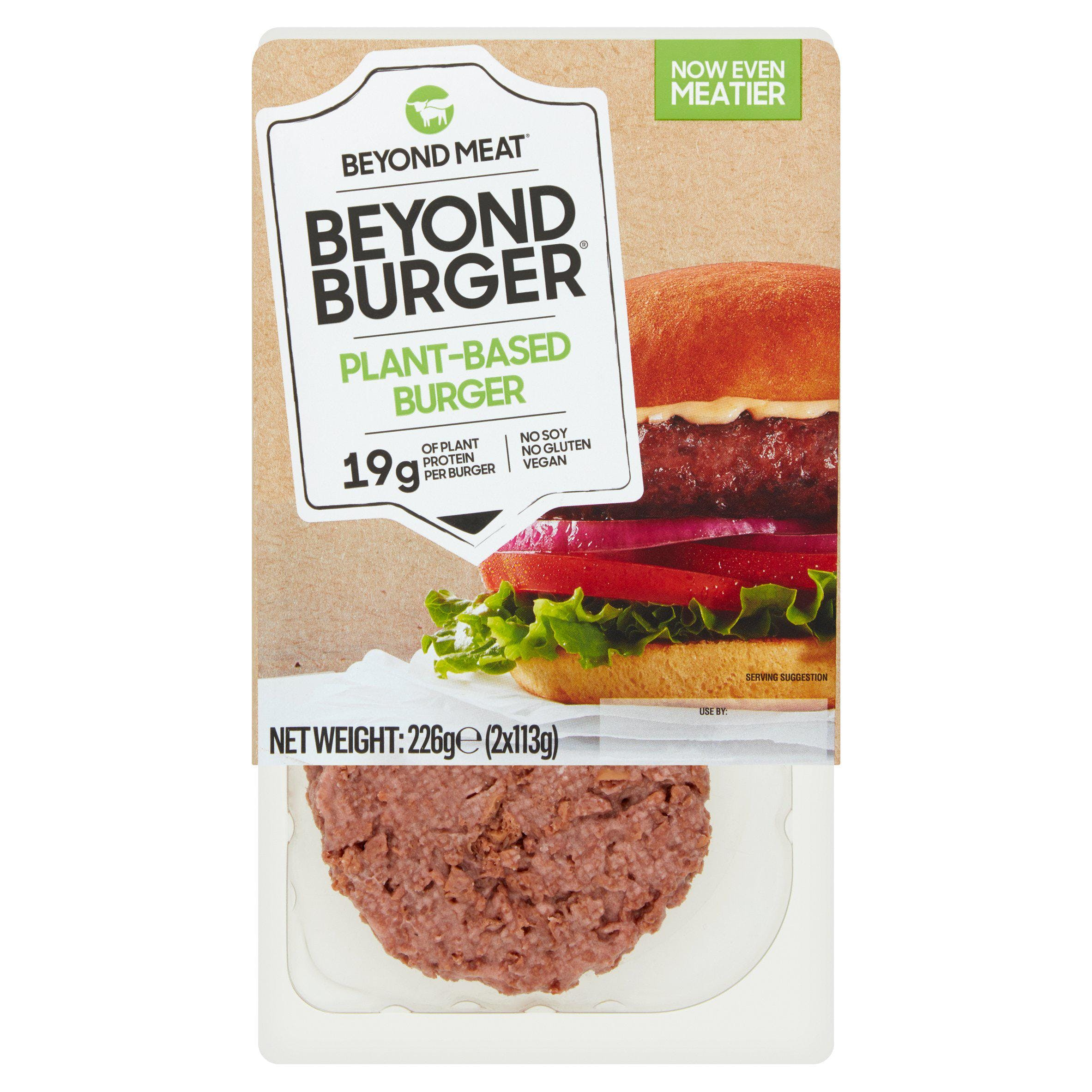 Beyond burger patties