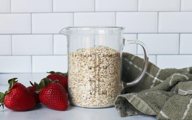 oats in a jug