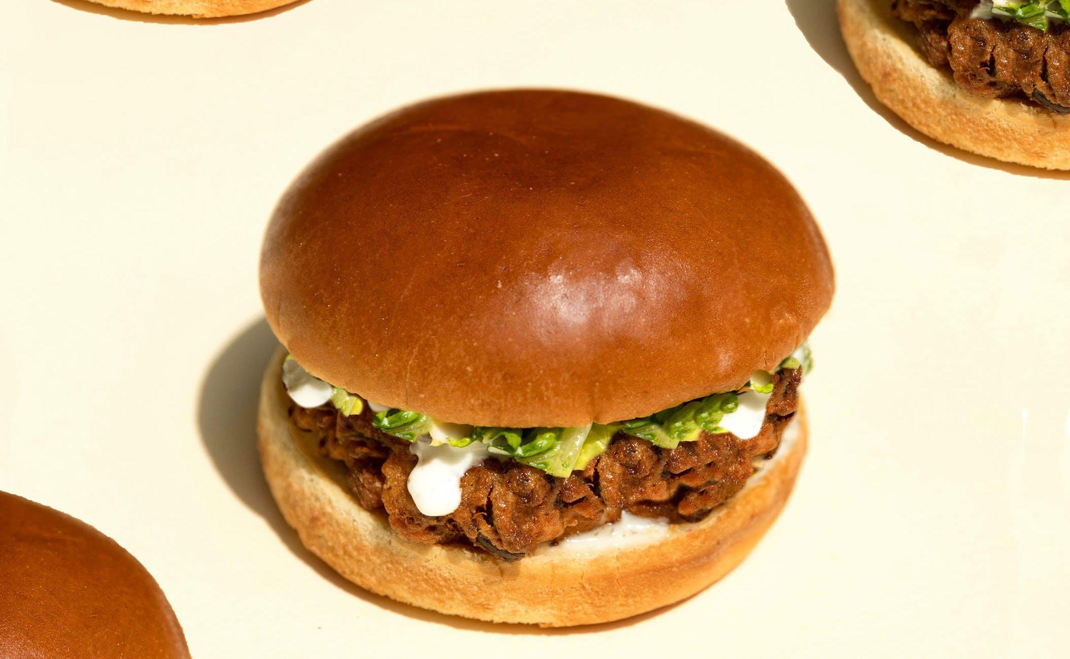 vegan allplants chicken burger