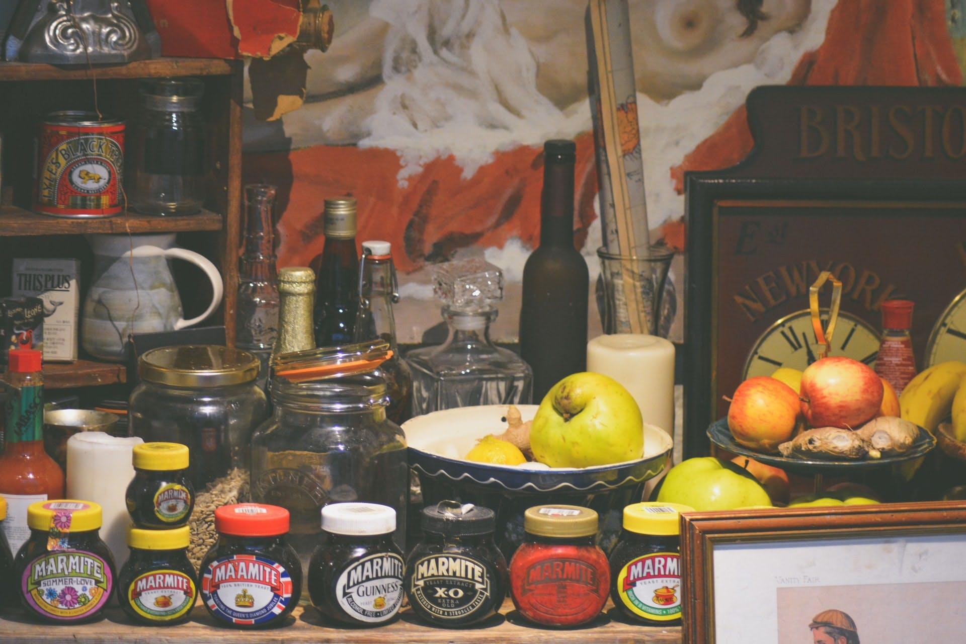 jars of marmite