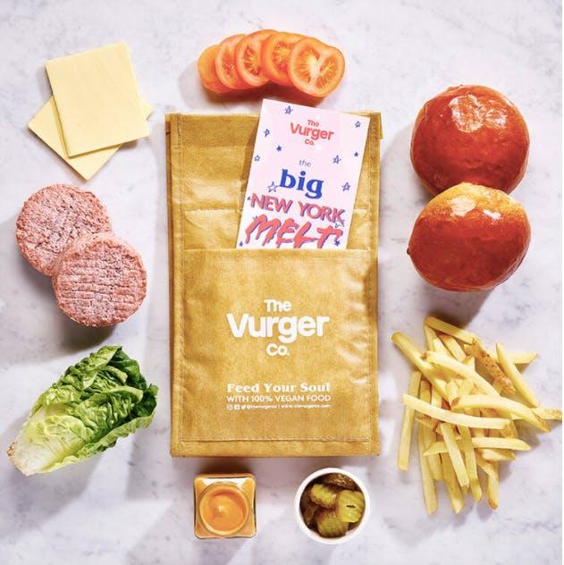 vegan burger kit