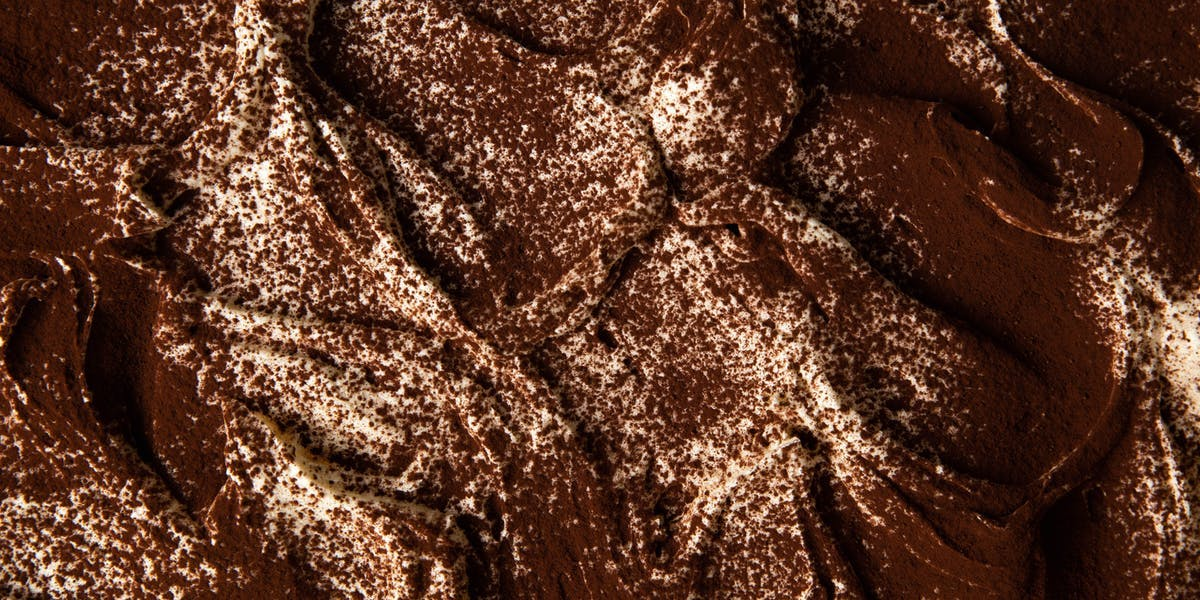 zoomed image of chocolate Guinness cake